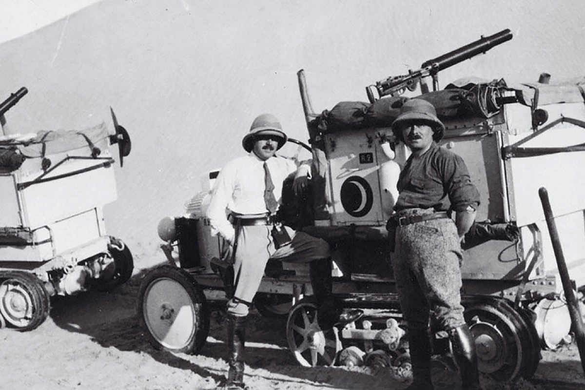 The First Motorized Crossing of the Sahara