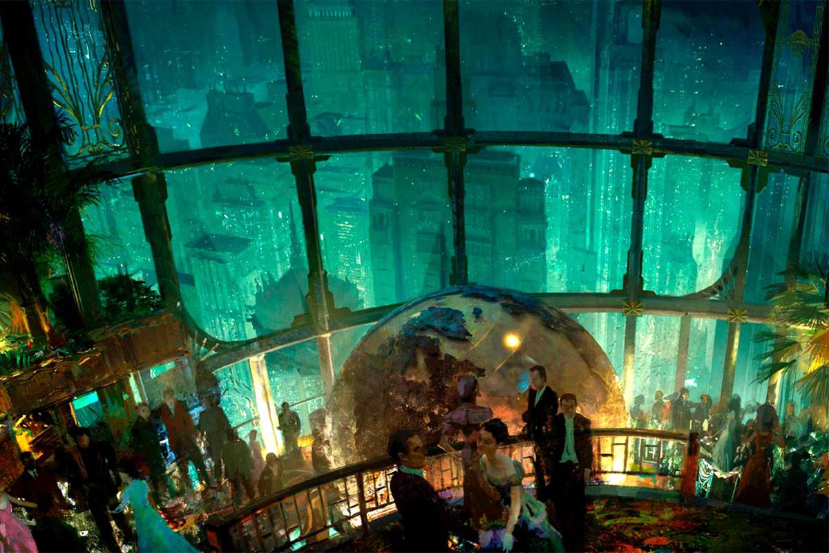 Rapture BioShock concept art