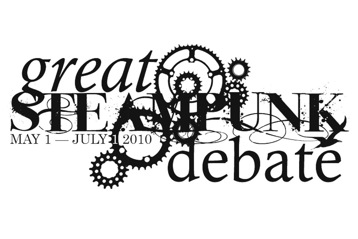 Great Steampunk Debate logo