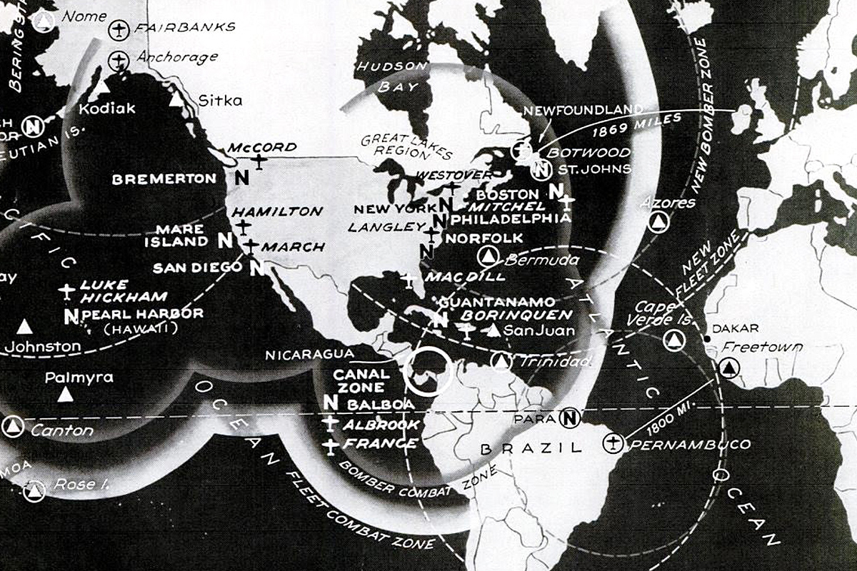 Hemisphere Defense or Sea Command: America's Choice in 1940
