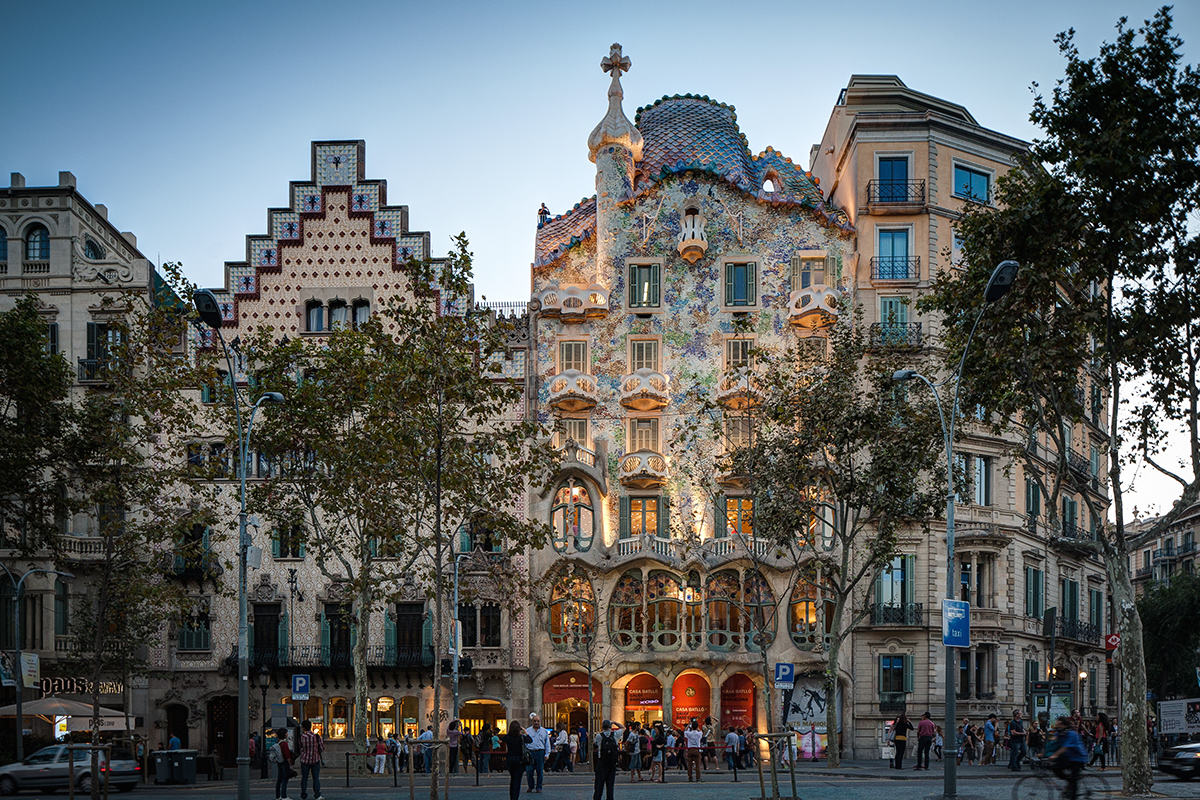 Modernista Architecture in Barcelona