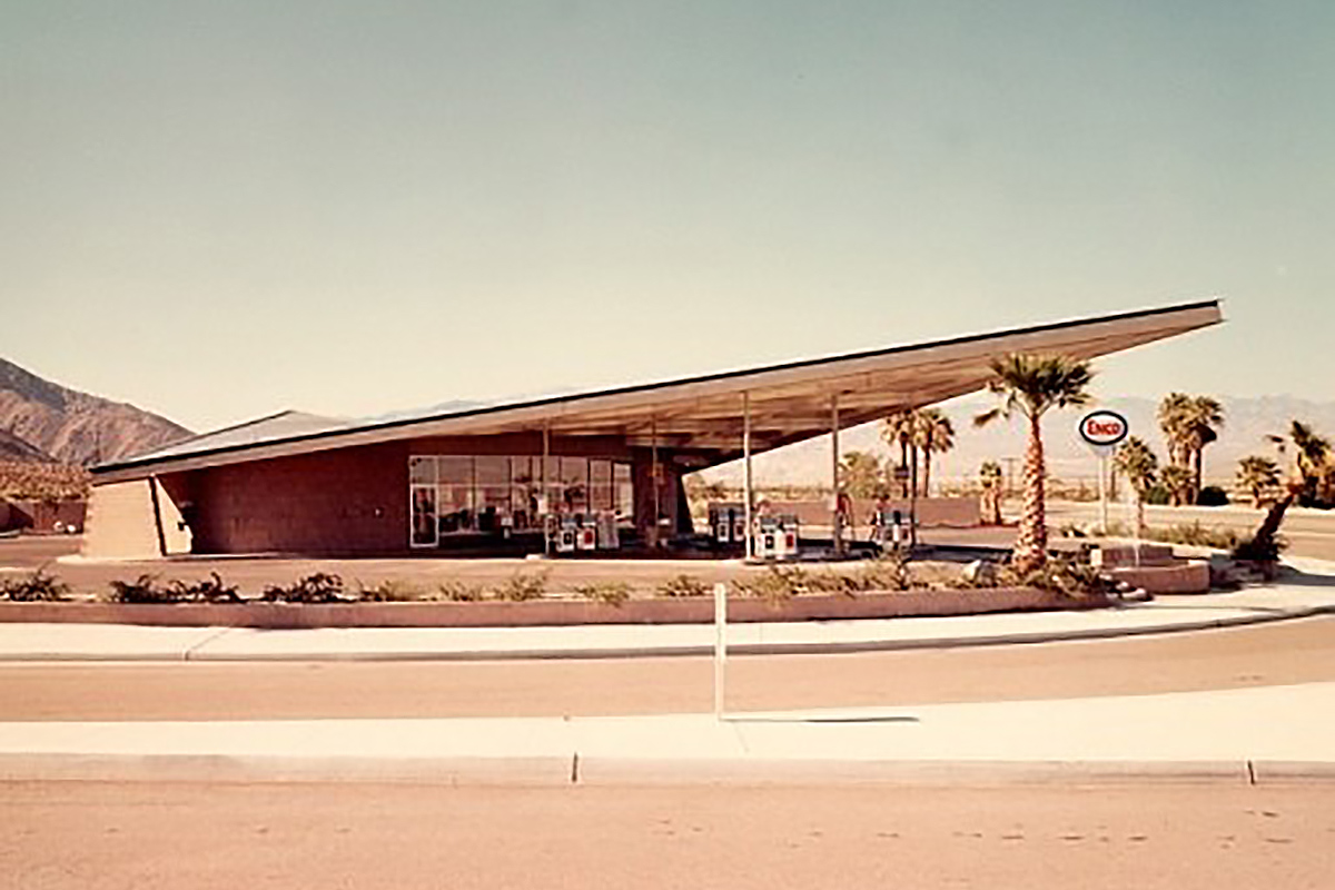Tramway Gas Station Palm Springs California