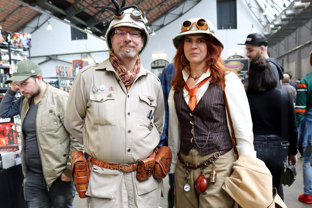 Steampunk at Comic Con Brussels
