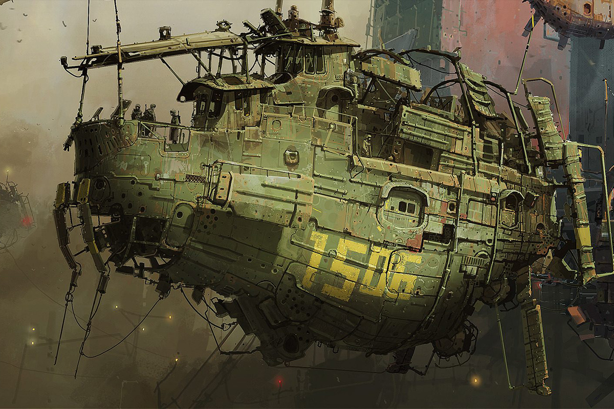 The Art of Ian McQue