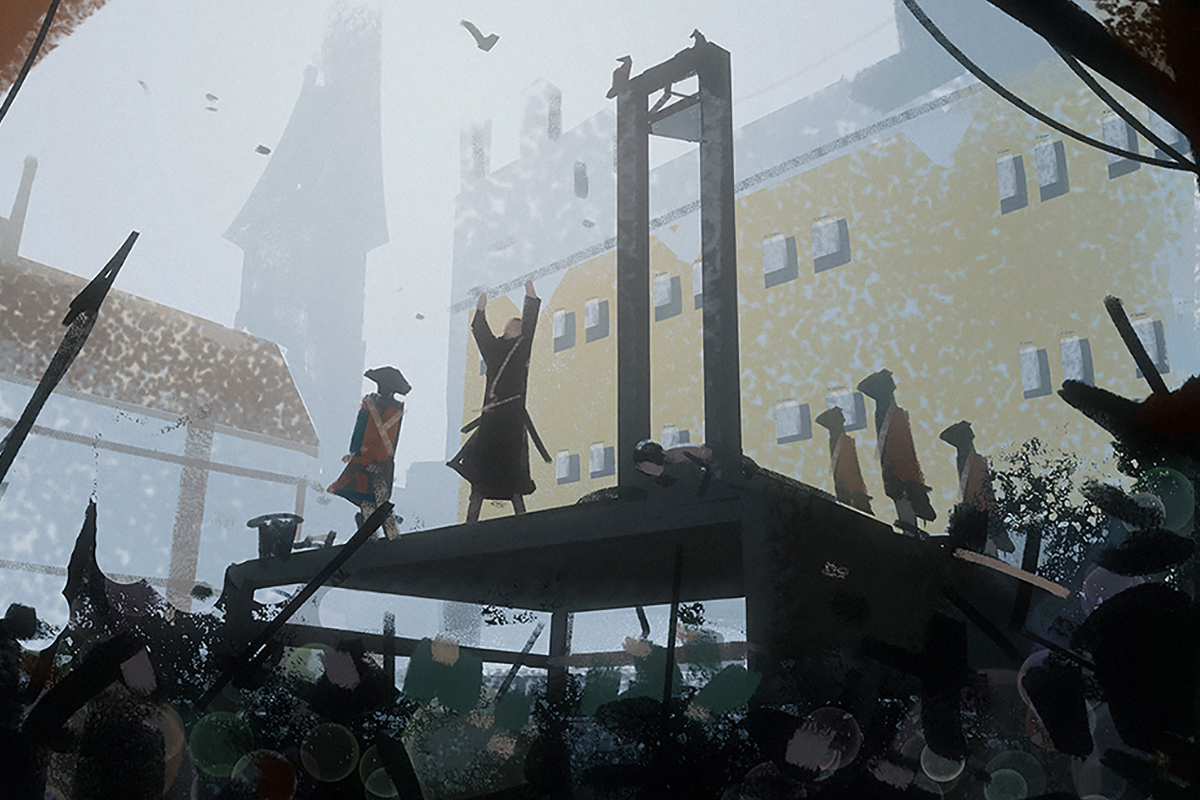 The Steampunk Political Guillotine Machine