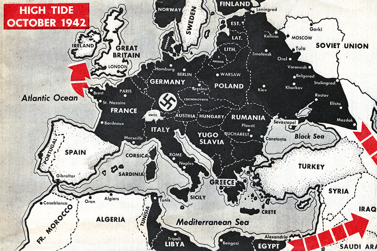 The Nazi Conquest of Europe in Maps