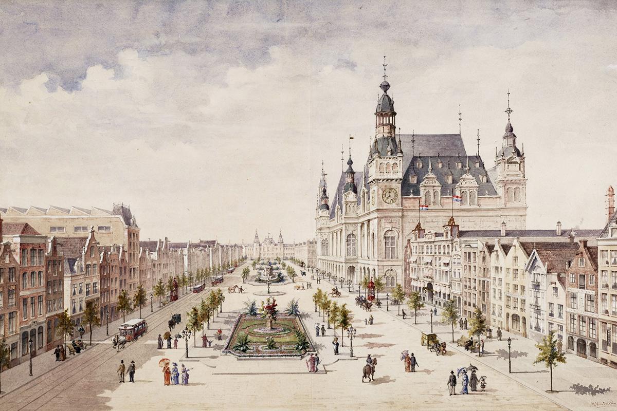 Unbuilt Amsterdam