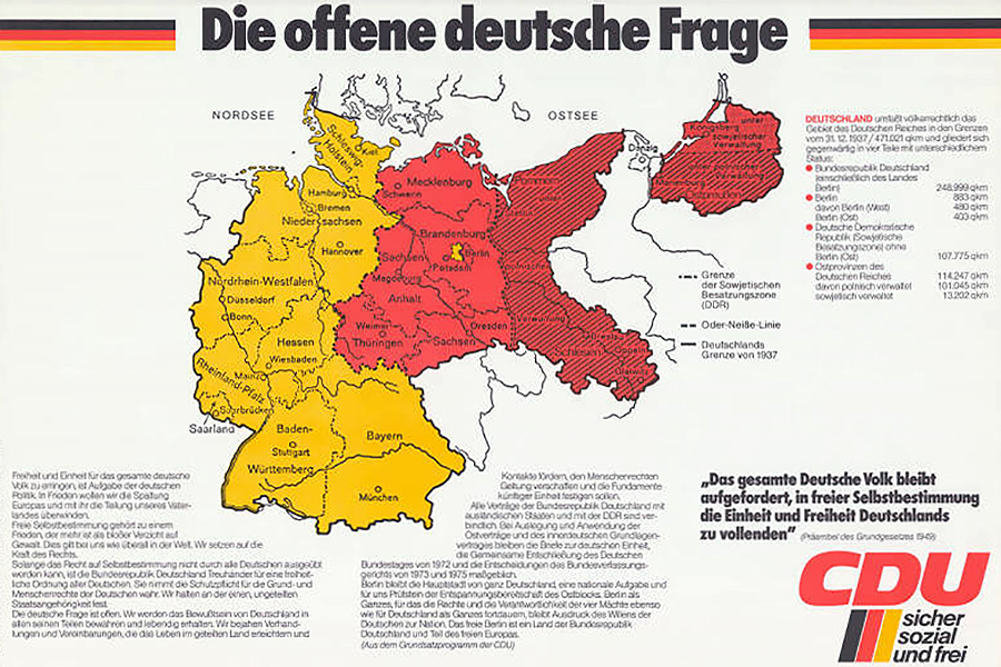Niemals Oder-Neisse: The Border Germany Refused to Accept for 45 Years