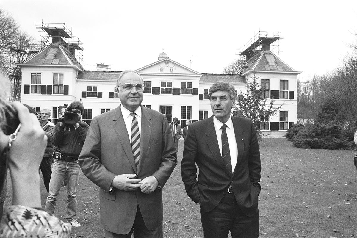 Helmut Kohl Ruud Lubbers