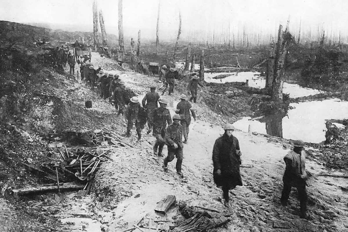 British soldiers Somme France