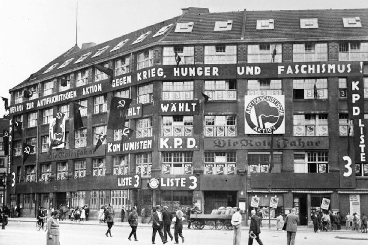 Karl Liebknecht House Berlin Germany
