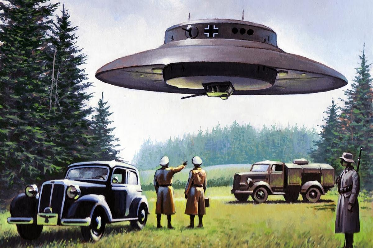 Nazi Flying Saucers